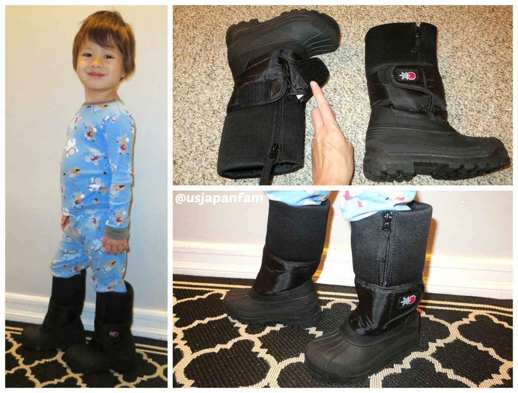 SnowStoppers Snow Boots have an extra tall water-proof machine-washable lining!