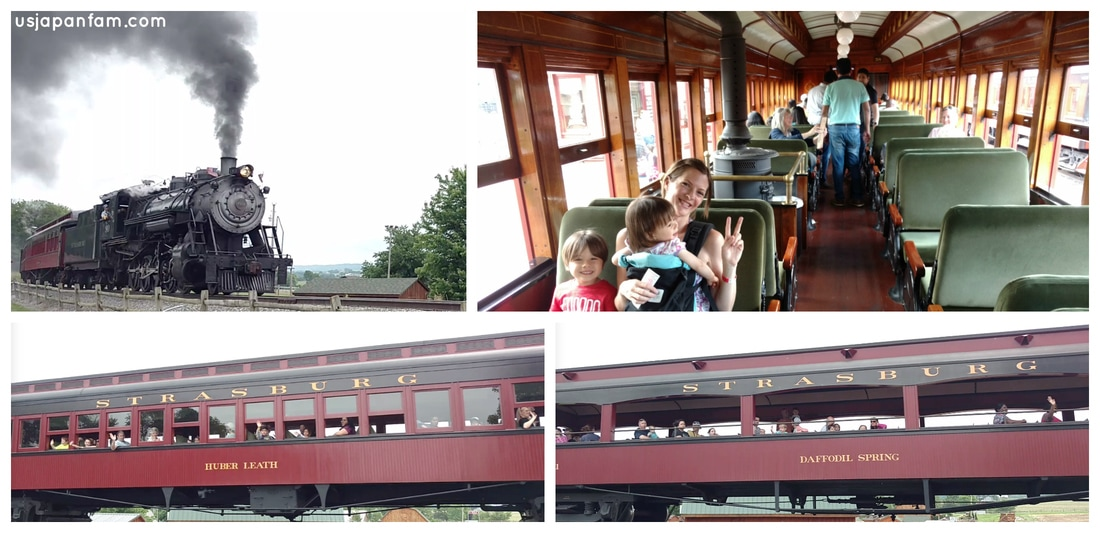 US Japan Fam's Family Vacation Guide to Lancaster: Strasburg Rail Road