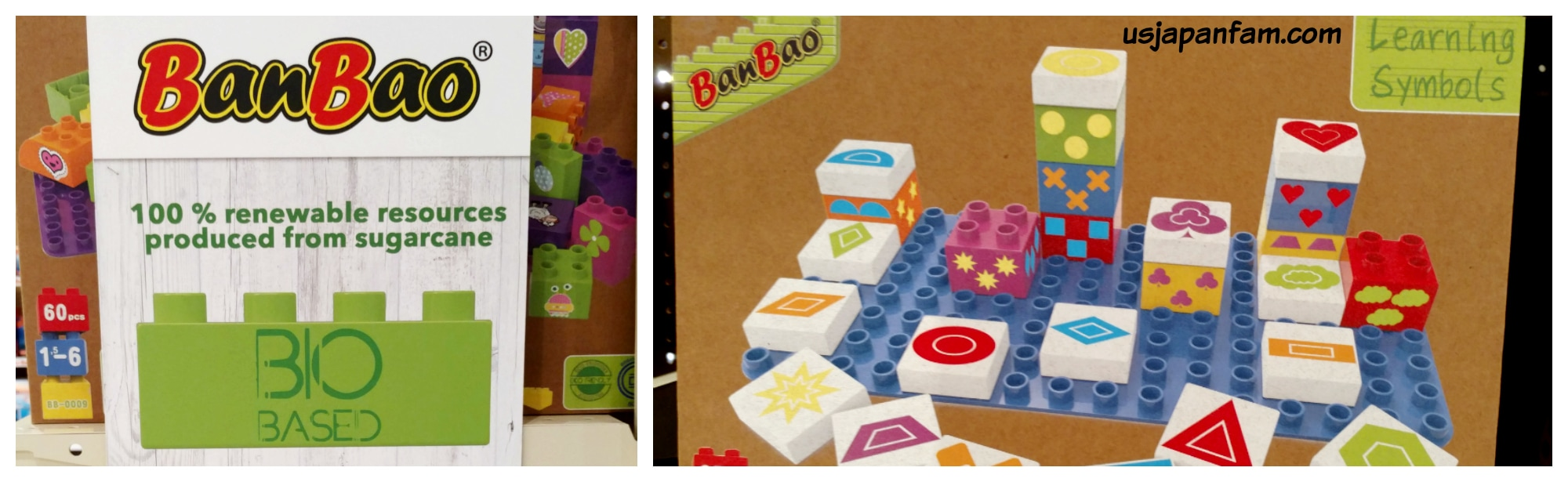 BanBao Bio-Based Blocks are one of US Japan Fam's BEST TOYS from Toy Fair 2017!