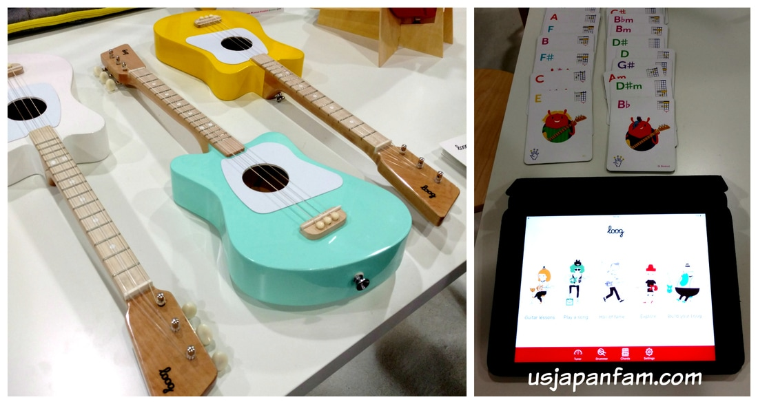 Loog Guitars are one of US Japan Fam's BEST TOYS from Toy Fair 2017!