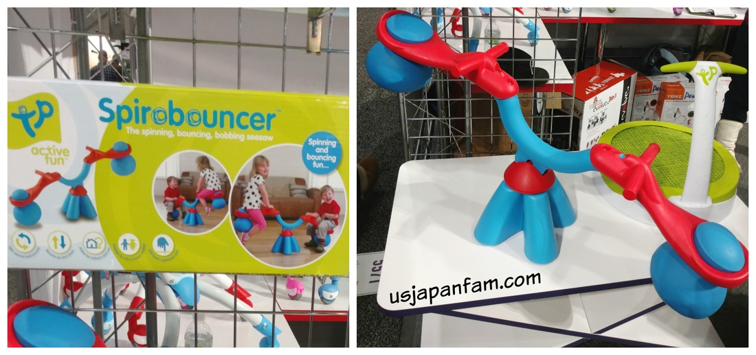 TP Activity Spiro Bouncer is one of US Japan Fam's BEST TOYS from Toy Fair 2017!