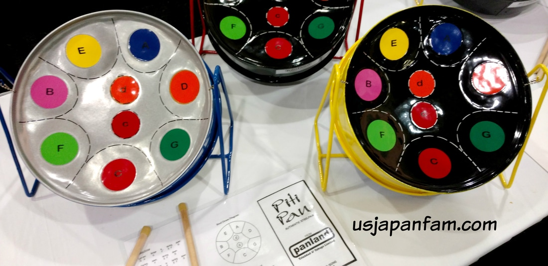 Piti Pan Steel Drum is one of US Japan Fam's BEST TOYS from Toy Fair 2017!