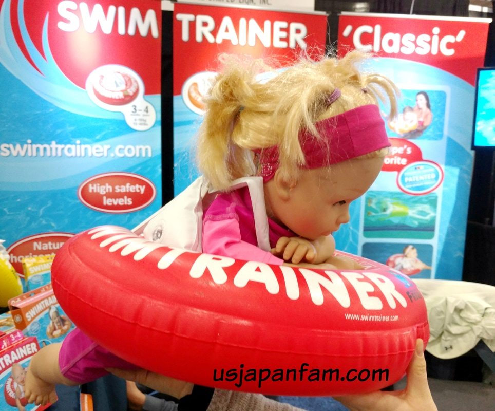 Swim Trainer is one of US Japan Fam's BEST TOYS from Toy Fair 2017!