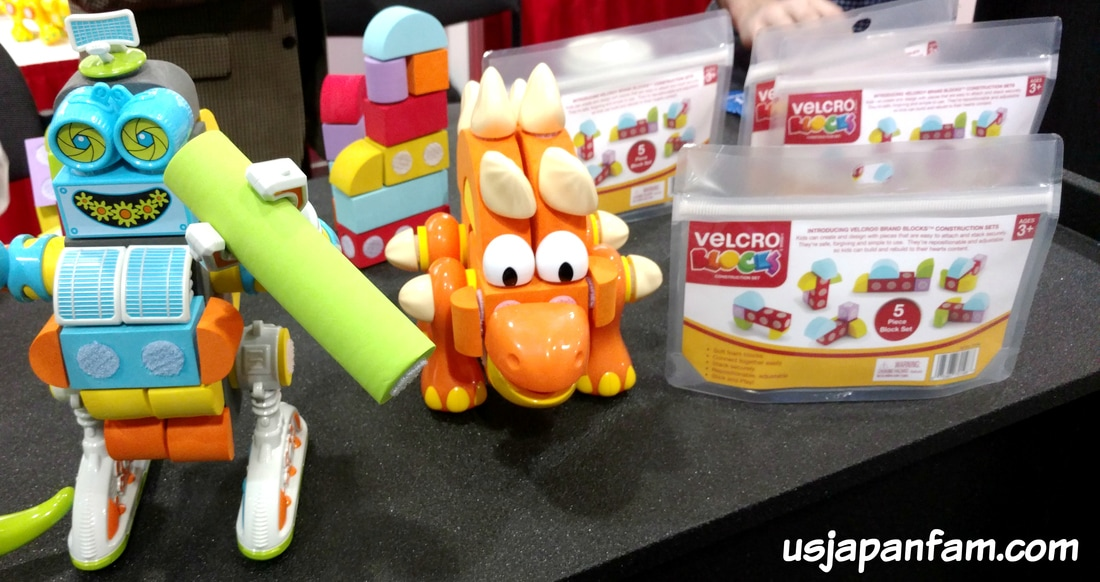 Velcro Blocks are one of US Japan Fam's BEST TOYS from Toy Fair 2017!