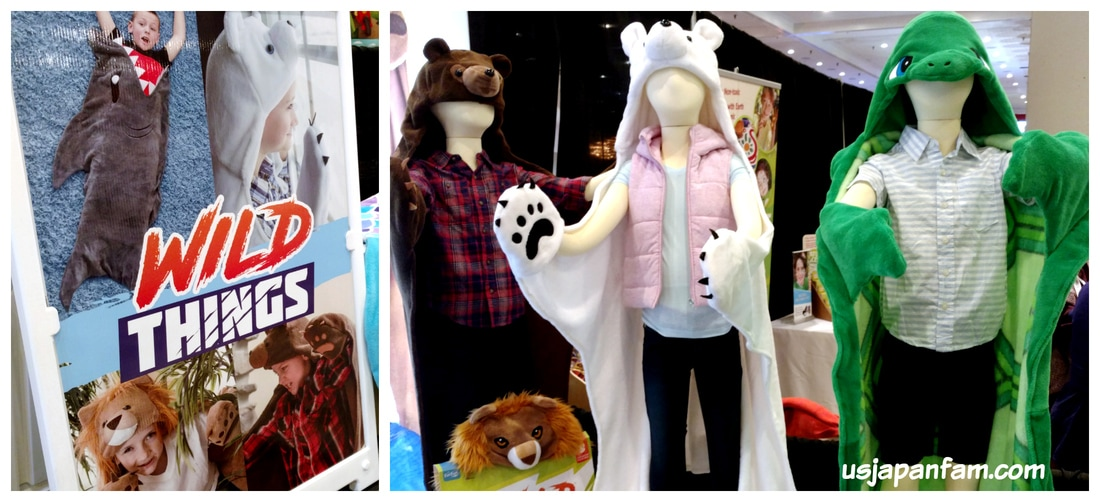 Wild Things / Cuddle Tails wearable blankets are one of US Japan Fam's BEST TOYS from Toy Fair 2017!