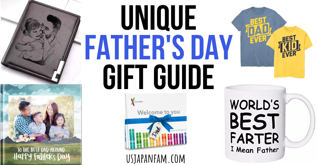 US Japan Fam's Unique Father's Day Gift Guide